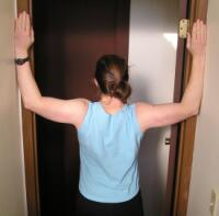 Door Jamb Chest Stretch