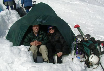 Mt Baker Camp